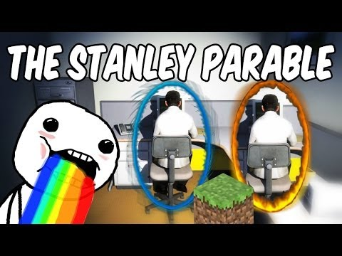 The Stanley Parable - PORTAL & MINECRAFT?! (#6)