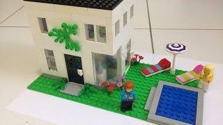 Como construir uma casa simples de Lego 2 - parte 2 (animação)