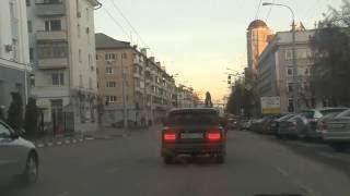 Белгород. гонка через город #1