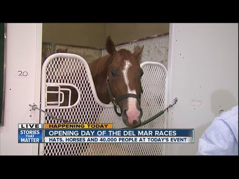 Opening Day Arrives At Del Mar, Thousands Expected