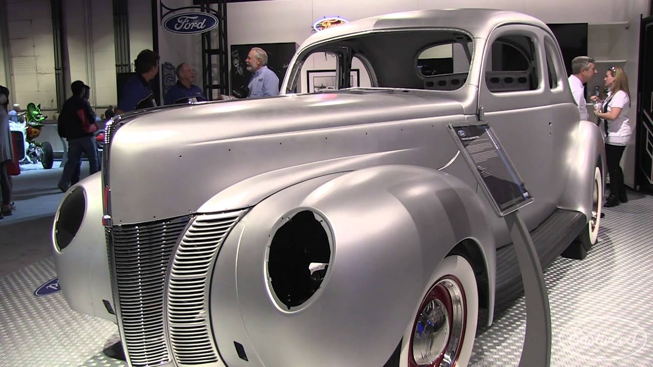 1940 Ford Steel Body Reproduction from Dennis Carpenter at SEMA from Eastwood - YouTube & 1940 Ford Steel Body Reproduction from Dennis Carpenter at SEMA ... markmcfarlin.com