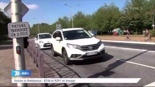 Voisins-Le-Bretonneux : RD36 et RD91 en travaux