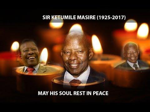 Remembering Sir Ketumile Masire- History of Botswana Independence