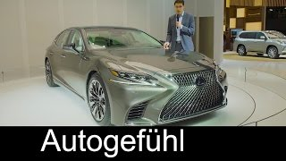 Lexus LS REVIEW Premiere all-new gen 2017/2018 neu - Autogefühl