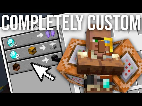 How To Make Custom Villager Trades in Minecraft 1.14