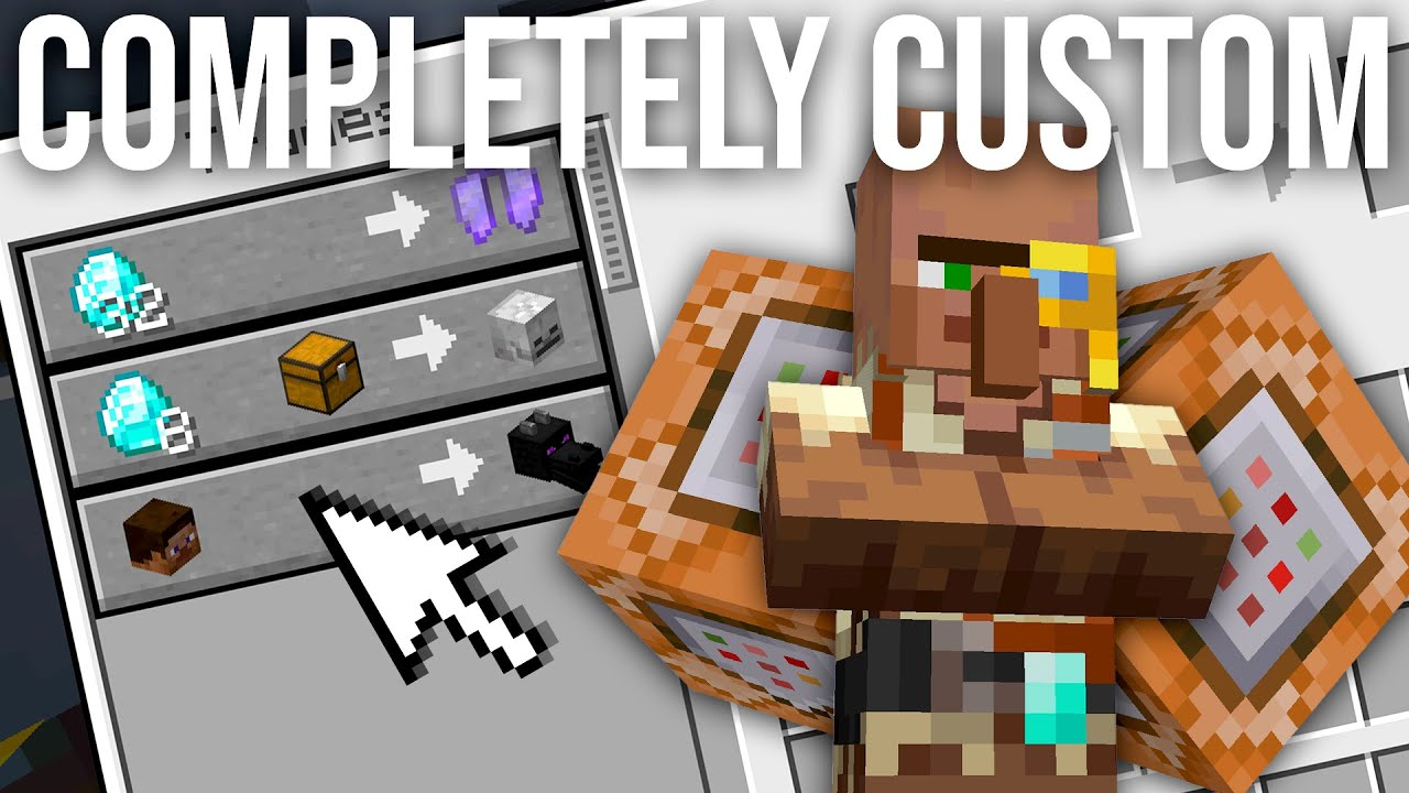 How To Make Custom Villager Trades in Minecraft 11.111
