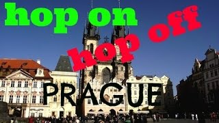 Prague Hop on Hop off tour by City Sightseeing