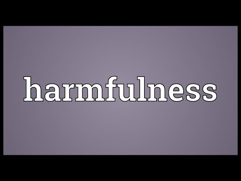 Header of harmfulness