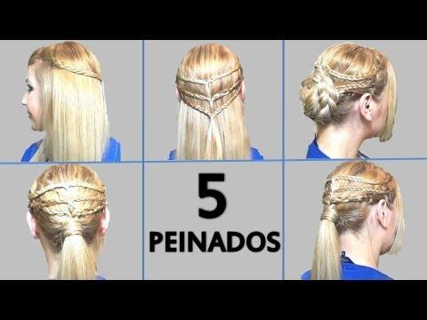5 Peinados Faciles Con Trenzas Para Ir A Clases O Trabajo 5 Back To