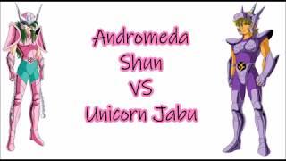 Cavalieri dello zodiaco - Saint Seiya 1vs1 - Andromeda Shun VS Unicorn Jabu - ITA