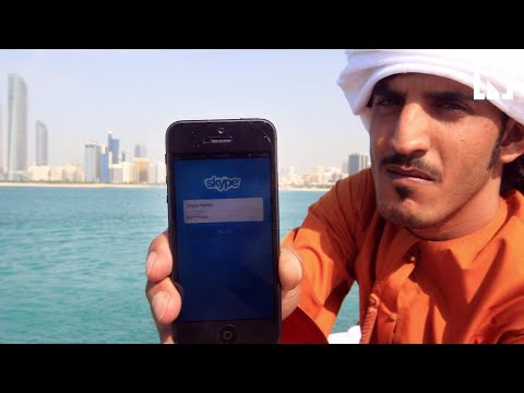 What's with Skype in the UAE?