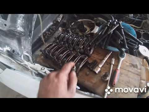Мерседес w124,разбор двигателя м 104
