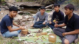 เดินป่า ลาบไก่ป่า ย่างปลา เทือกเขาภูพาน กับอ้าย joe channel