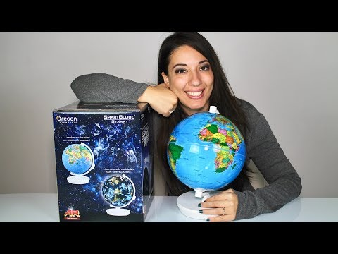 Mappamondo AR realtà aumentata Starry Globe della Oregon Scientific