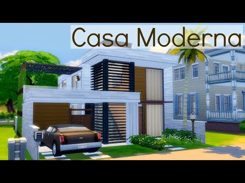 The sims 4 tutorial de constru o casa em 39 l 39 doovi for Casa moderna 4x4