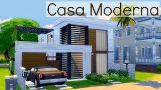 Casa Moderna Pequena com 2 quartos - Construção The Sims 4