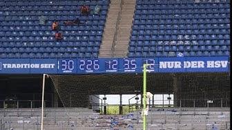 Neue Zeitrechnung in Hamburg: Legendäre HSV-Uhr tickt weiter