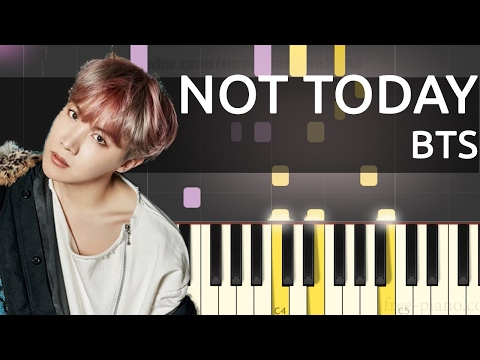 BTS (방탄소년단) Not Today - Piano Tutorial