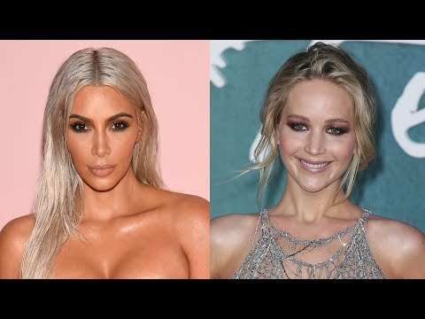 Kim Kardashian REACTS To Jennifer Lawrence Fangirling Over Her