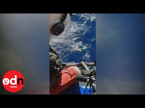 Sunday Survival Story! Man survives hours at sea by using jeans as a flotation device