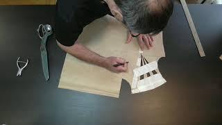 Моделирование бархатного платья