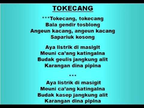Lagu Dan Tari Nusantara: TOKECANG - Lagu Anak