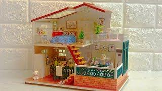 DIY Miniature Dollhouse Kit One Meter Sun