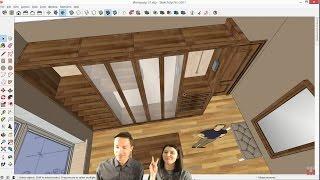 Помоделим-ка! #06 Проектируем гардеробную в SketchUp