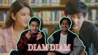 Arsy Widianto, Tiara Andini - Diam - Diam (Official Music Video) Indonesian Reaction