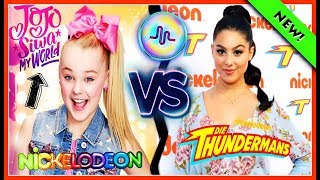 JoJo Siwa My World VS The Thundermans Musical.ly battle | Nickelodeon Stars Musically 2017