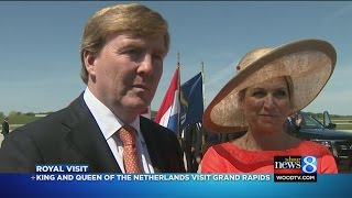 King and queen celebrate West Michigan's Dutch roots