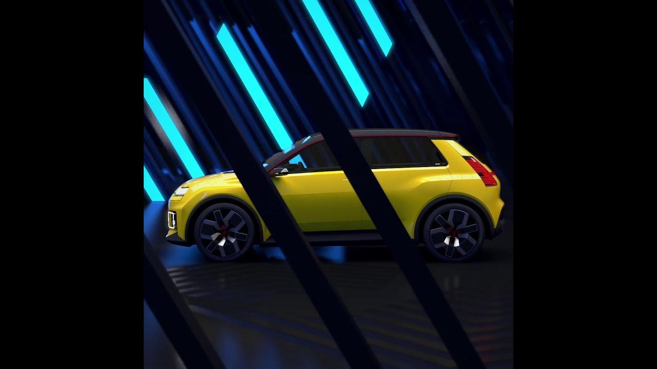 Renault 5 E-TECH electric prototype
