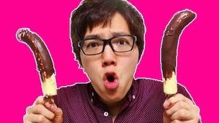 自宅でチョコバナナ作ってみた! thumbnail