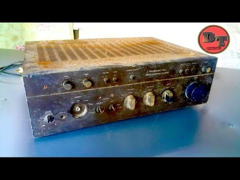 Restoration Amplifier Technics SU-8075 | Restore Classic Brand Amplifier Of Panasonic