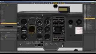 Using X Plane's Plane Maker ~ Add/move/remove instruments ~ Change Your Viewpoint