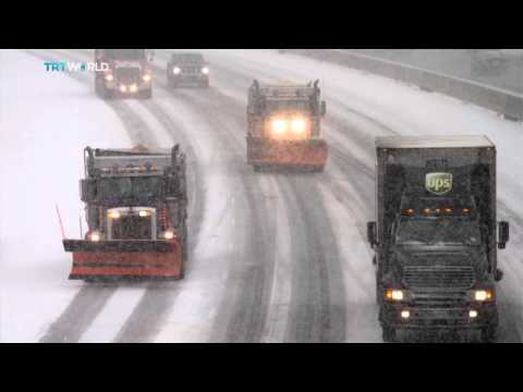 US Blizzard: Massive snow storm blankets East Coast