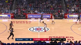 1st Quarter, One Box Video: Los Angeles Clippers vs. New Orleans Pelicans