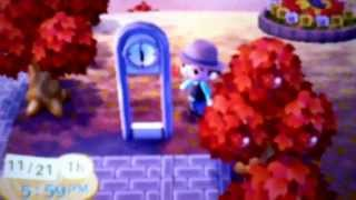 Animal crossing new leaf what happens to the modern clock every hour