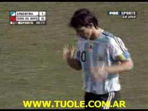 Sub 20 Argentina 1 - 0 Corea del Norte (2007)