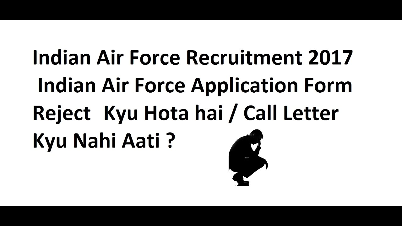How To Apply Offline For Indian Air force (Sarkarinaukri) 2017-18 ...