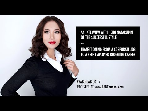 Transitioning From a Corporate Job To A Self-Employed Blogging Career