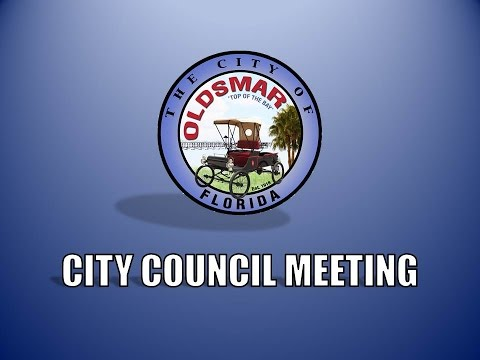 City of Oldsmar Council Meeting, 11/17/2015