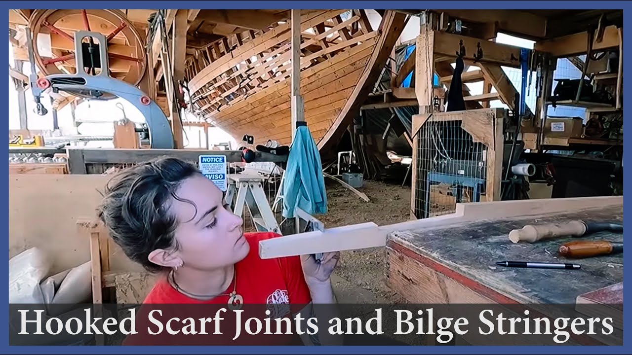 Hooked Scarf Joints and Bilge Stringers - Episode 159 - Acorn to Arabella: Journey of a Wooden Boat