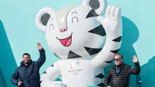 Meet the Winter Olympics mascots, Soohorang and Bandabi