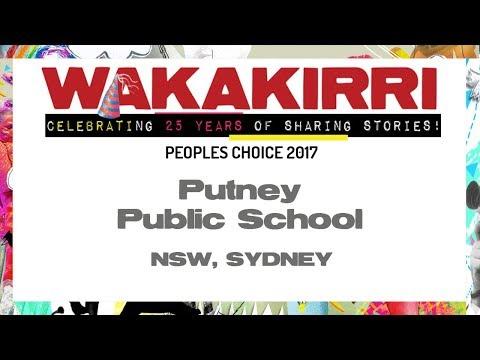 PUTNEY PUBLIC SCHOOL  | Peoples Choice 2017 | NSW Sydney | WAKAKIRRI