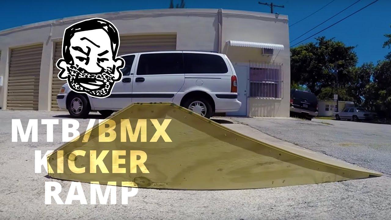 How To Build A Wooden Mtb Ramp Seth S Bike Hacks