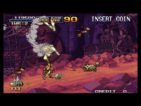 Metal Slug X : Homing Enemy Chaser MAME Arcade Game