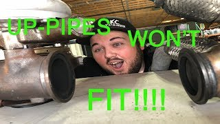 6.0 Powerstroke, Turbo Up pipe installation and EXHAUST LEAK FIX