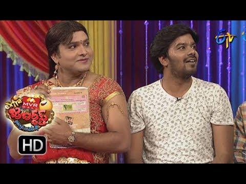 Sudigaali Sudheer Performance | Extra Jabardasth | 29th December 2017  | ETV Telugu