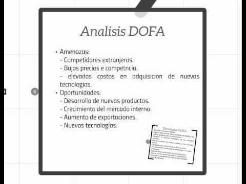 Análisis DOFA de Alpina